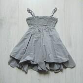 Стильное платье для девочки. Размер 2 года. Состояние: идеальное. Состав: 100% хлопок