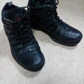 Ботинки зимние кожаные 39-40 р. Receptor в отличном состоянии