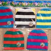 Модные весенние красивые шапочки на малышей