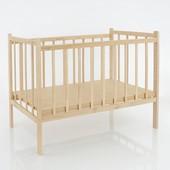 Кроватка деревянная КФ №1