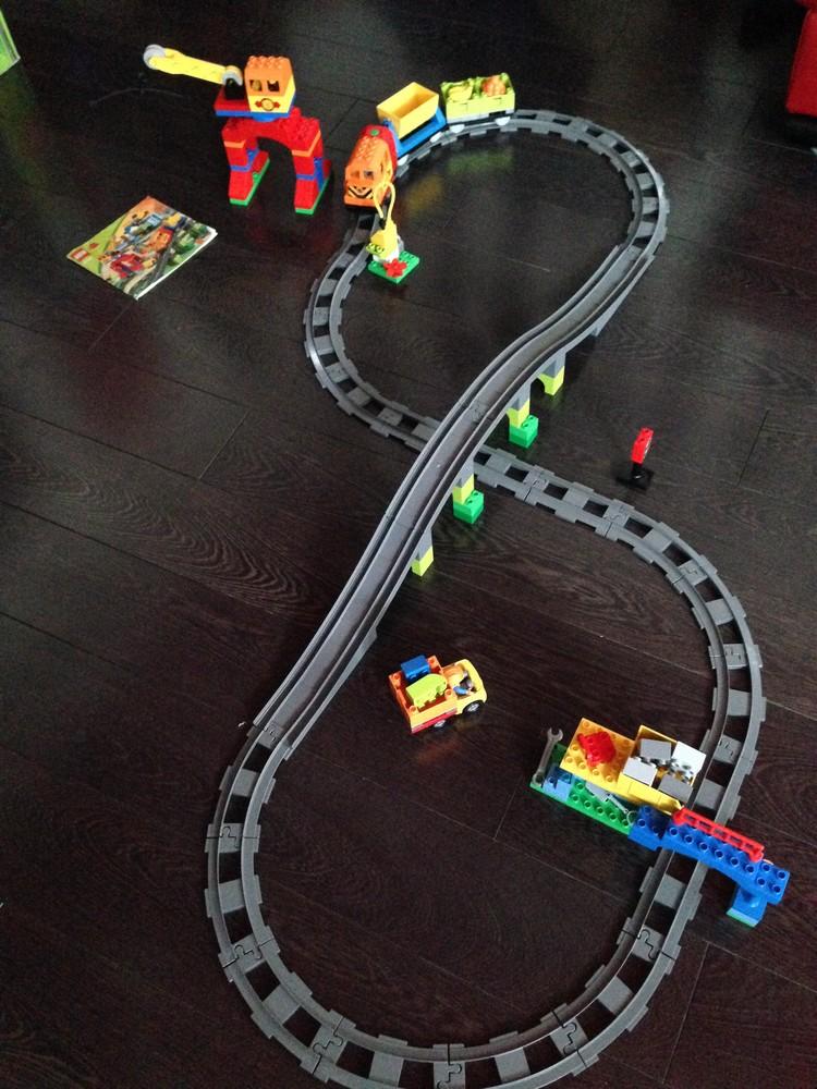 Железные дороги лего дупло картинки