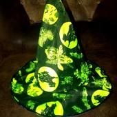 Маскарадная шляпа волшебницы до 54 размера
