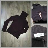 Тёплый , фирменный свитер-гольф  Pimkie, цв.- баклажан, УП 12