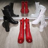 Качественные сапоги, ботинки, натуральная кожа