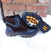 Ботинки Winter, р. 32-39, нат. кожа на меху, зима -25С, код gavk-226
