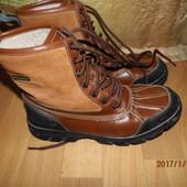 (№і328)фирменные кожаные сапоги 42 р Marcecko Water resistant