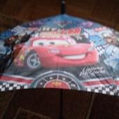 Детский  зонтик с тачками