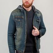 Акция. Куртка джинсовая теплая, искусственный мех. Арт. 331K001-2