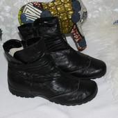 36 22см Rieker Зимние ботинки на низком ходу на овчине