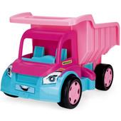 Грузовик Гигант для девочек розовый Тм Wader 65006