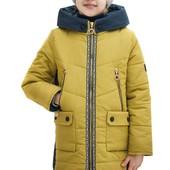 Демисезонное весенне - осеннее пальто, для девочки