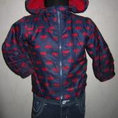 На 12-18 мес. Куртка на флисе Baby мальчику