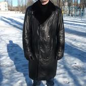 Пальто Pandas дубленка натуральная кожа мех