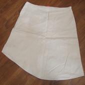 Фирменная Esprit хлопок стрейч юбка ассиметрия на 48-50 размер идеал