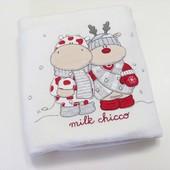 Chicco двойное байковое одеялко 62х78 см