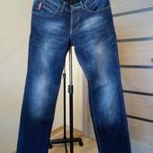Мужские фирменные утепленные джинсы Dsquared (на флисе) состояние новых