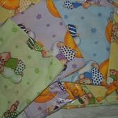 Комплект детского постельного 3в1 Bonna цветной