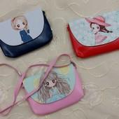 Прикольная детская сумочка,2 вида, новая