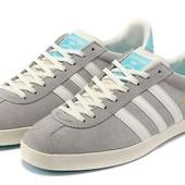 Кроссовки Adidas Gazelle Grey, р. 41-45, код fr-1150
