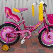 Азимут Гел Azimut Girls 14 16 18 20 дюймов,  велосипед для девочки