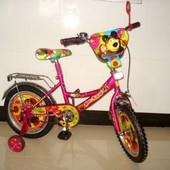 Детский двухколесный велосипед Mustang Маша и Медведь 16, 18 д