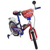 Детский велосипед Mustang Тачки 12, 14, 16, 18, 20 д