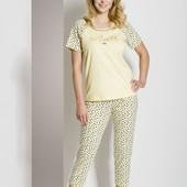 Качественная женская пижама, костюм  тм regina(польша),  размер 48,50 и 52