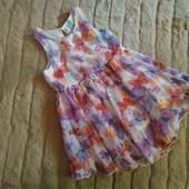 Платье Dunnes 3-4 года см замеры.