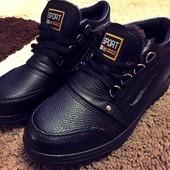 в наличии .41 (26,5) . польские зимние мужские ботинки