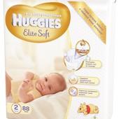 Подгузники Huggies Elite Soft хаггис элит софт р.1 2 от 110грн