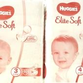Подгузники Huggies Elite Soft хаггис элит софт р.1, 3, 4