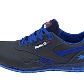 Подростковые кроссовки Reebok  royal classic jogger blue (реплика)