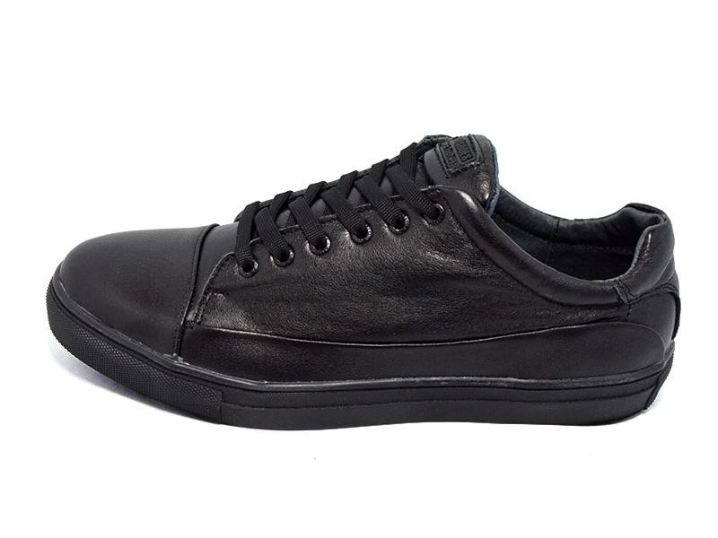 Мокасины мужские Multi Shoes Prima Black фото №1