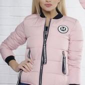 Размеры 42-54 Стильные женские короткие куртки разных цветов