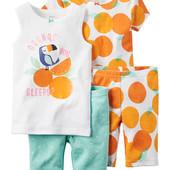 Пижамка Апельсинки carters