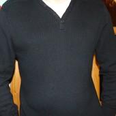 Стильная фирменная бреновая кофта свитр реглан George (Джордж).л-хл