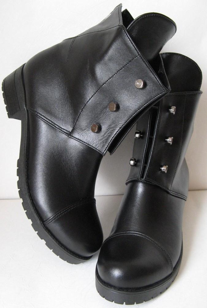 Стильные hermes болты! ботинки женские демисезонные сапоги гермес кожа фото  №1 f00b84dea49