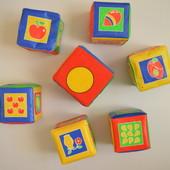 Мягкие кубики Canpol