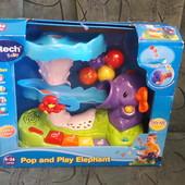 Музыкальный слон с шариками Vtech Pop and Play Elephant
