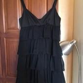 Красивое платье с воланами Promod. Р-р  S