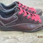 Кожаные туфли (ботинки)  Geox р.38 стелька 25см