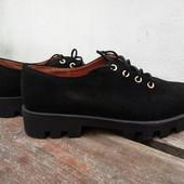 Туфли натуральный замш 36-40