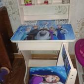 Детский столик-парта(ростишка) от 2х до 8 ми лет