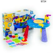 Тесто для лепки 8724 игровой набор с столиком пластилин Color dough