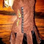 Платье Зены - королевы воинов размер S