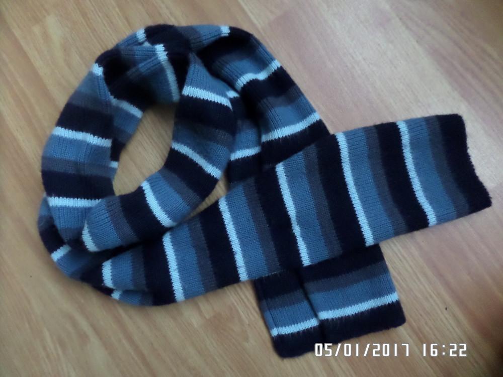 симпатичний довгий шарф фото №1