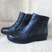 Waldlaufer р.41(27.5см) зимові ботинки шкіра+натуральне хутро