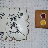 Вкусный подарок ребенку!!! Пряник-раскраска.