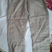 брюкі 100% льон,XS-S