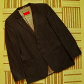 Hugo Boss, оригинал, пиджак шерстяной, размер 52.